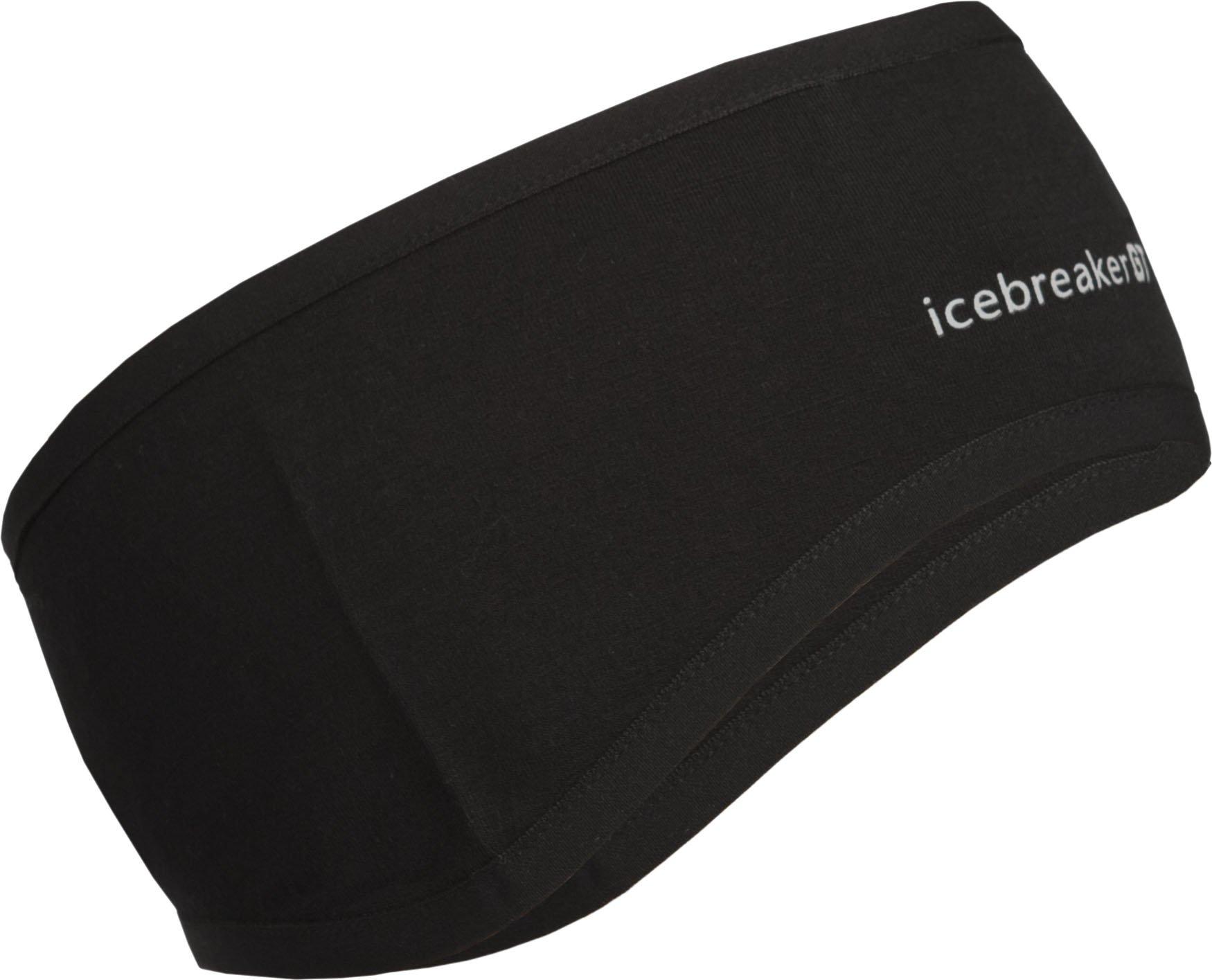 Icebreaker Women's Quantum Headband (Black, Medium)