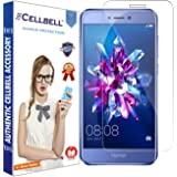 CELLBELL® Honor 8 Lite (2017) Tempered Glass Screen Protector With FREE Installation Kit