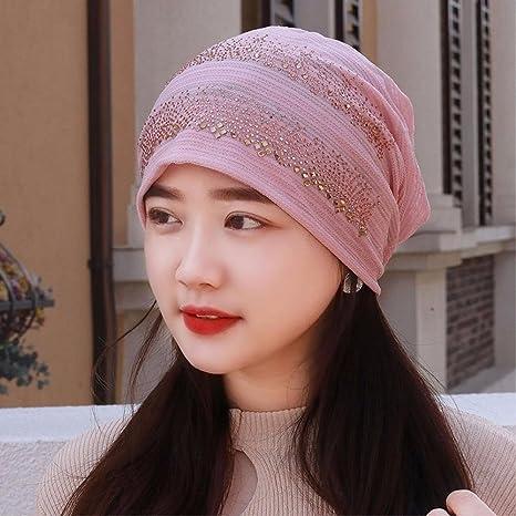 23745d16a YANGFEIFEI-MZ La primavera y el verano de sección delgada bufanda lace  transpirable hat mujeres