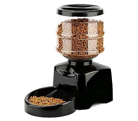 4652 Dispensador automático PROLABZOO RECUERDO DE VOZ comida perro y gato 5.5LT