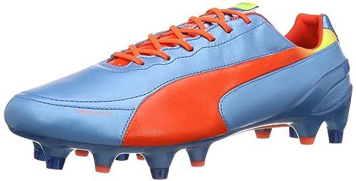 f90bd4b0240c Puma Men s evoSPEED 1.2 L Mixed SG Football Shoes  Amazon.co.uk ...