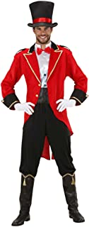 Mens Tamer Man Costume Small UK 38/40  for Circus Fancy Dress  sc 1 st  Amazon UK & Bristol Novelty AC163 Ringmaster Costume Red 44-Inch: Bristol ...