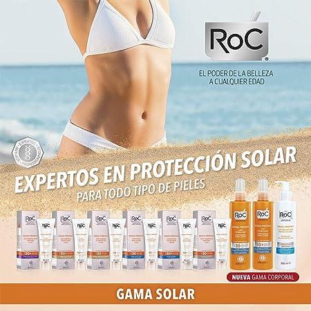 ROC Soleil Protect - Fluido Reductor de Arrugas, SPF50+, 50 ml