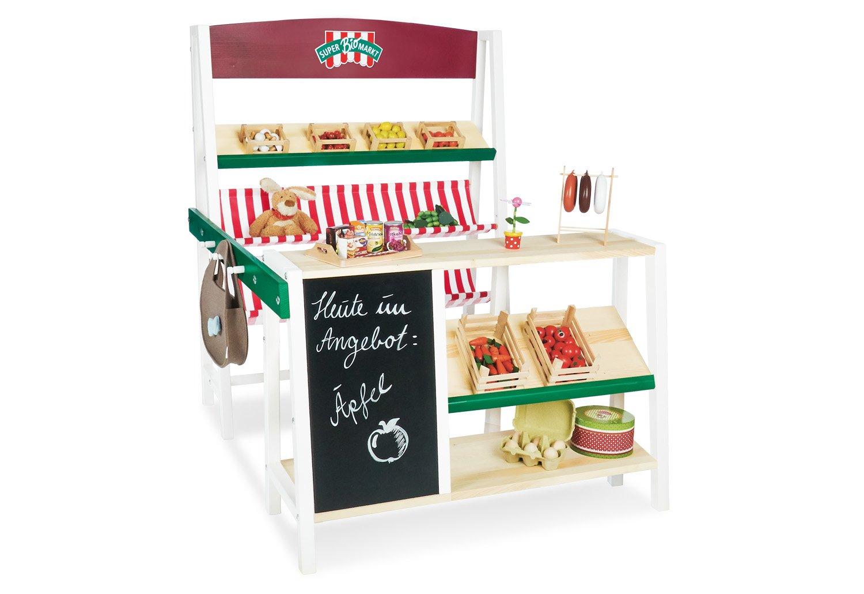 Pinolino Kaufladen - Pinolino Marktstand SuperBioMarkt