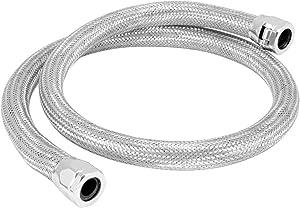 "Spectre Performance (39698) 5/8"" x 4' Stainless Steel Flex Heater Hose Kit"