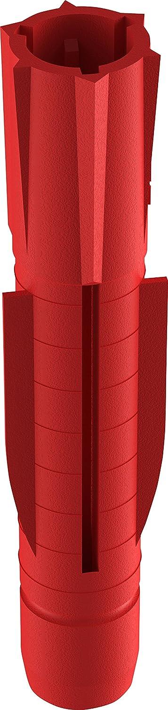 D/übel f/ür fast alle Baustoffe 010100091 100 St/ück TOX Allzweckd/übel Tri 7 x 51 mm