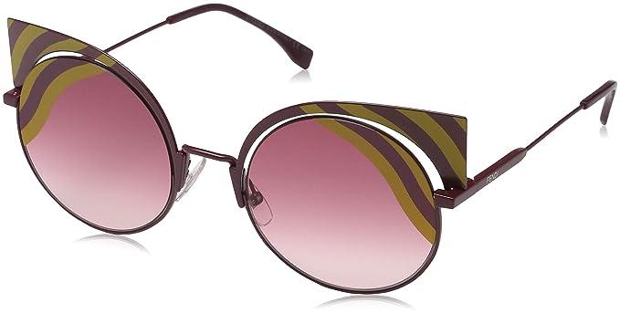 Fendi FF 0215/S X4, Gafas de Sol para Mujer, Amarillo (Mat ...