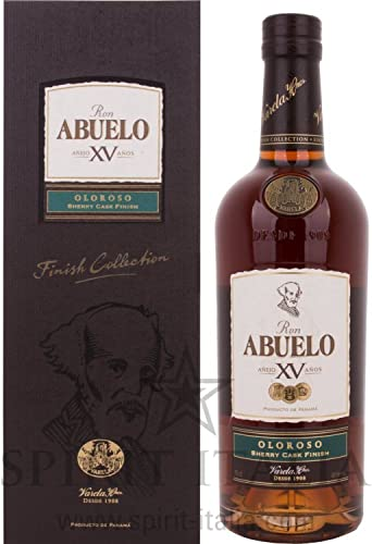 Ron Abuelo Añejo XV Años OLOROSO Sherry Cask Finish+ GB 40,00 ...
