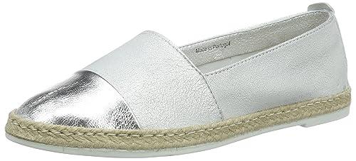 Buffalo ES 30873 Laminado Flash, Alpargatas para Mujer, Plateado (Prata 01), 40 EU: Amazon.es: Zapatos y complementos