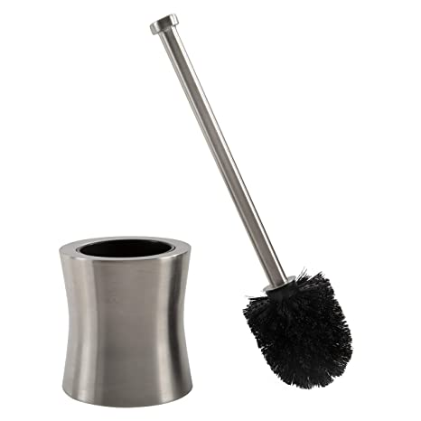 Amazon.com: Escobilla para baño con escobillero de acero ...