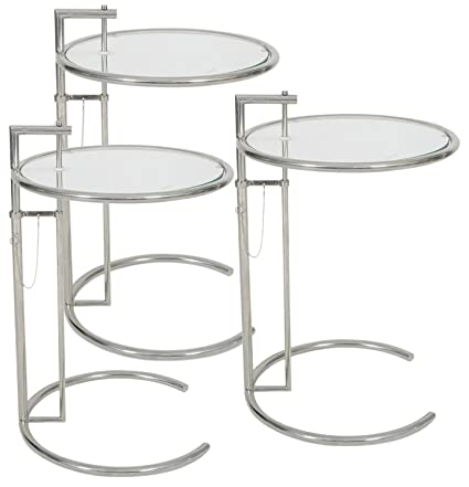 Amazoncom MLFreg Eileen Gray End Table Set Of Kitchen Dining - Eileen gray end table