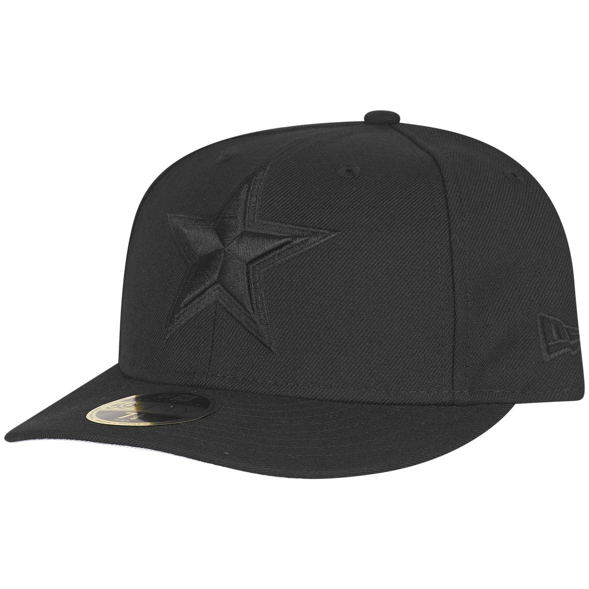 Dallas Cowboys Noir New Era 59Fifty Low Profile Cap