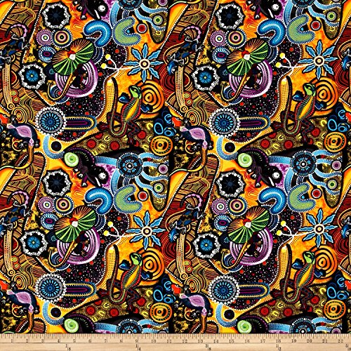 goanna-walkabout-animals-multi-fabric-by-the-yard