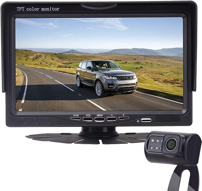 Leekooluu Hd 720p Backup Camera And 7 Monitor For Amazon Co Uk Camera Photo