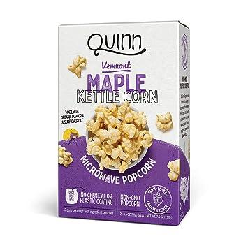 Quinn Popcorn - Palomitas de microondas Vermont Maple Kettle ...