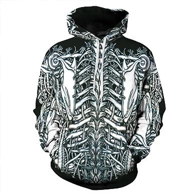 Hale Tomlinson Digital Printing Starry Sky Pullover Hoodies Sweatshirt Jacket for Men Women