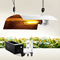 Greenfingers 250W Grow Light with Magnetic Ballast, BAT Wing Reflector Full Spectrum LED Plant Hydroponic Lights for Veg…