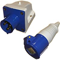 TINGB Connecteur de Prise daviation /électrique /à vis 400V Prise de connecteur daviation /électrique /à vis 5 Broches