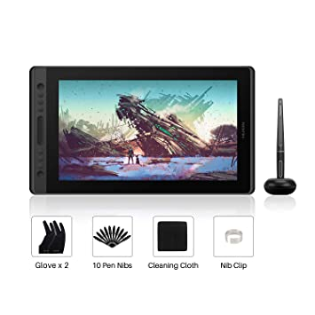 HUION Kamvas Pro 16 15 6-inch IPS Full Laminated: Amazon co uk