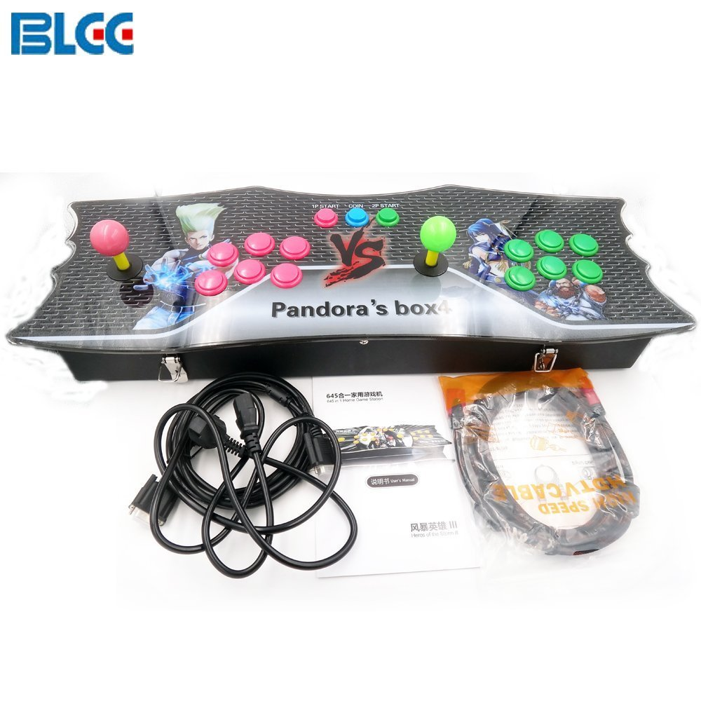 BLEE Pandora's Box 4s+ Arcade Console 815 in 1 TV Jamma Video Games Kit with 815 Games Joystick Button Power Supply Parts HDMI and VGA Output