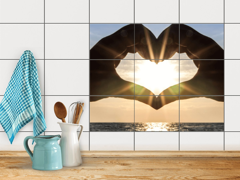 Amazon.de: creatisto Fliesendeko, Badezimmer-Fliesen | Fliesentattoo ...