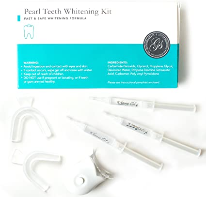 Amazon Com Pearl Teeth Whitening Kit With Blue Led Light System