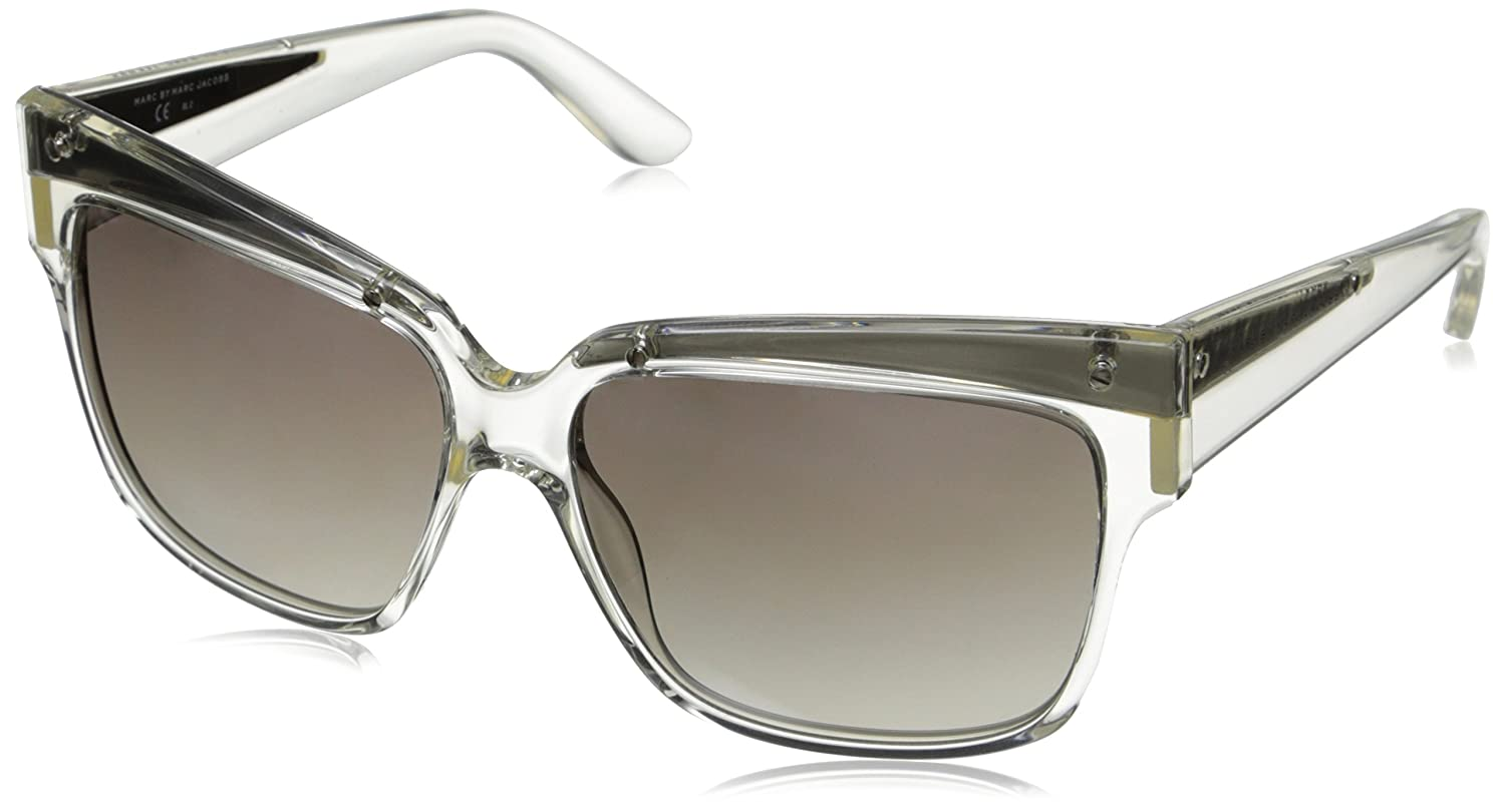 a0a034600dc1 MARC BY MARC JACOBS MMJ 423 S Sunglasses 0CRA Crystal 57-14-140   Amazon.co.uk  Clothing