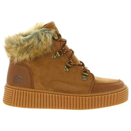 MTNG Botines de Mujer 69264 C33833 Novi Cuero: Amazon.es: Zapatos y complementos