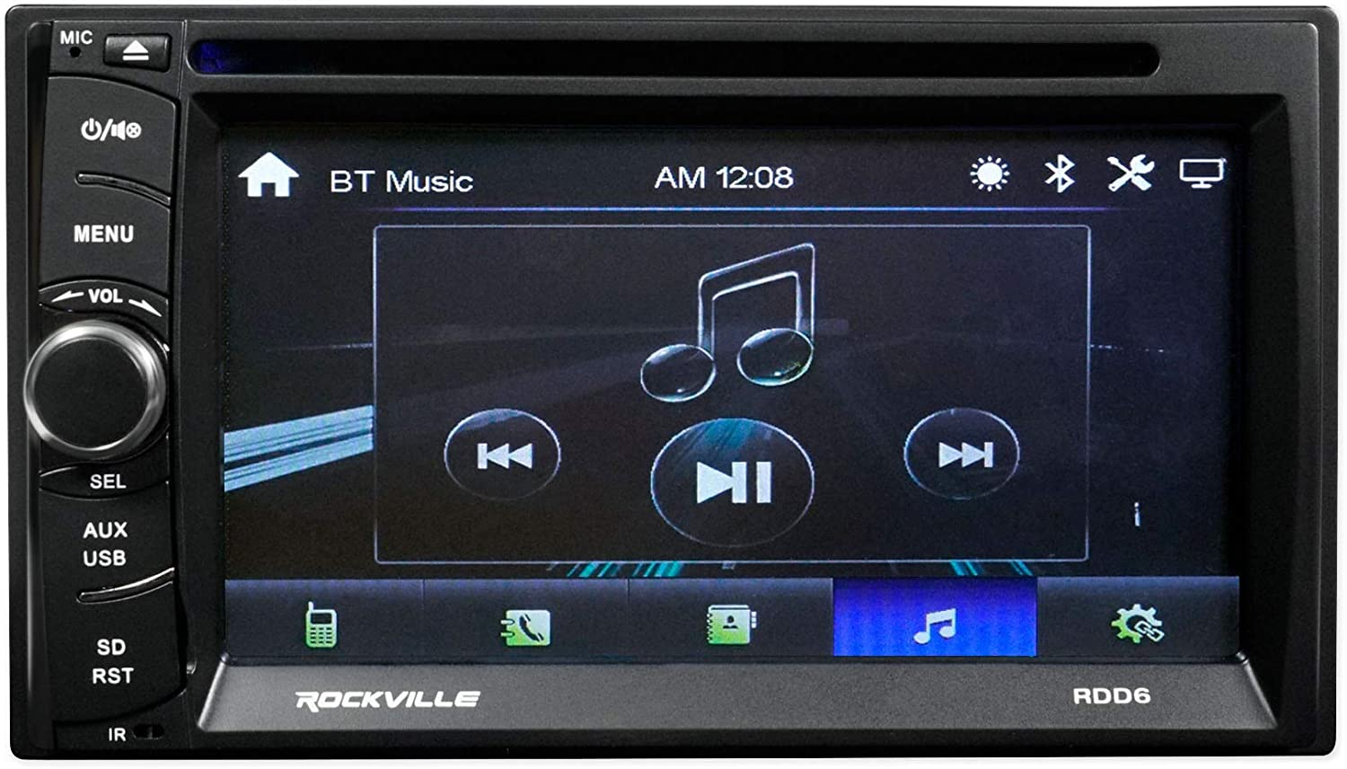 6.1 DVD//iPhone//Bluetooth//USB Receiver Stereo Radio for 2004-2006 Ford F-150