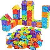 ZHONGKE Interlocking Builders Blocks Play Set for kids ,Big Building Bag,Bricks House Building Blocks