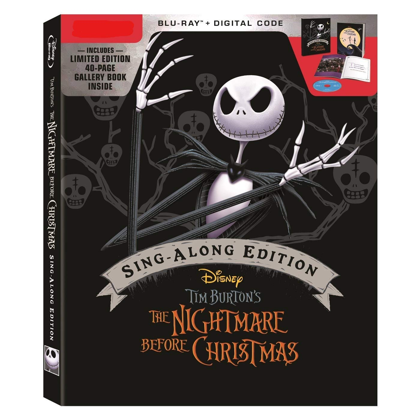The Nightmare Before Christmas 2020 Blu-Ray Release Amazon.com: The Nightmare Before Christmas 25th Anniversary