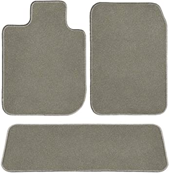 1 Pack GG Bailey D60760-S1A-GY Two Row Custom-FitCar Mat Set Grey