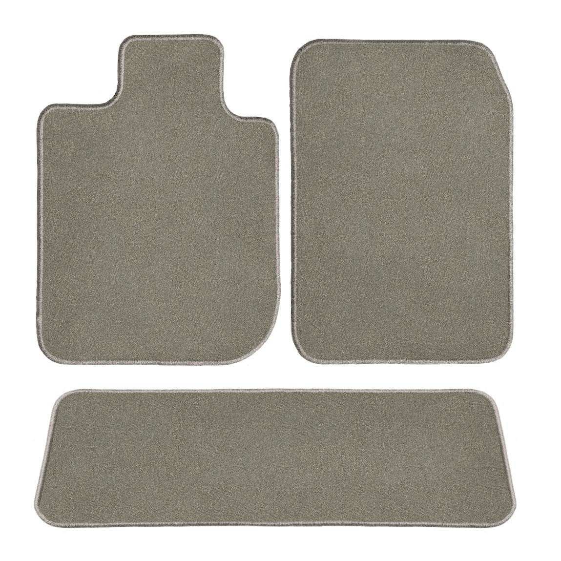 GGBAILEY D60041-S2B-GY Custom Fit Car Mats for 2017 2018 Chrysler Pacifica Grey Driver Passenger /& Rear Floor