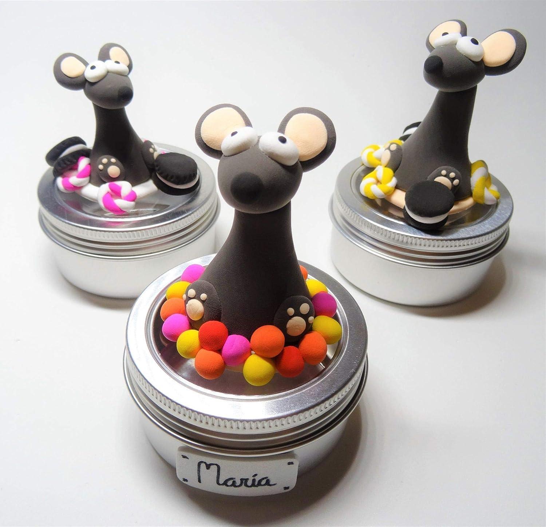 Caja dientes leche Ratoncito Pérez personalizable: Amazon.es: Handmade