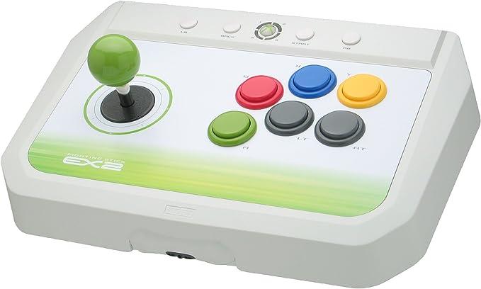 Hori Fighting Stick EX2 pour Xbox 360 - Contrôleur Manette - Blanc - Accessoire Licence Officielle Microsoft Xbox 360 (X360) [Importación francesa]: Amazon.es: Videojuegos