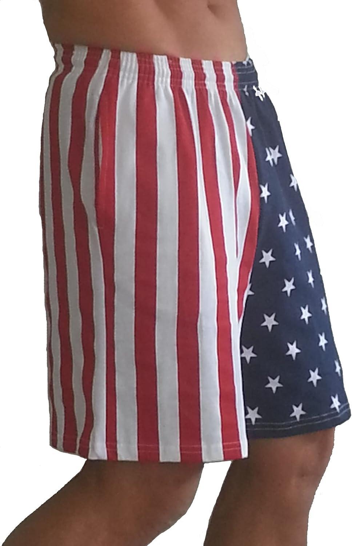 F600 Flag Shorts in American Flag Short Pattern