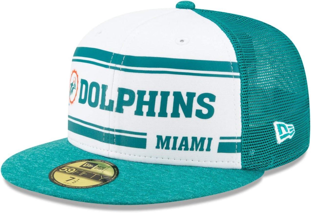 Sideline 70s Home Miami Dolphins Retro New Era 59Fifty Cap
