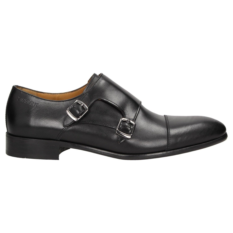 Zweigut® -Hamburg- smuck  257 Schuhe Monkstrap Herren Double Monk-Strap  Leder Schuh Business Shoe Slipper  Amazon.de  Schuhe   Handtaschen 94697322f1