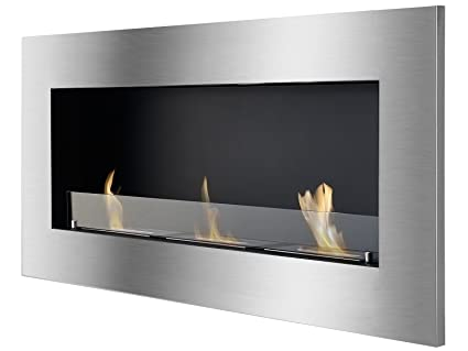 amazon com ignis ventless bio ethanol fireplace optimum with safety rh amazon com ignis bio ethanol fireplace burner ignis tab tabletop ventless ethanol fireplace