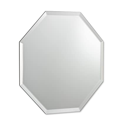 Abbott Collection Parlour 8 Sided Beveled Mirror Small