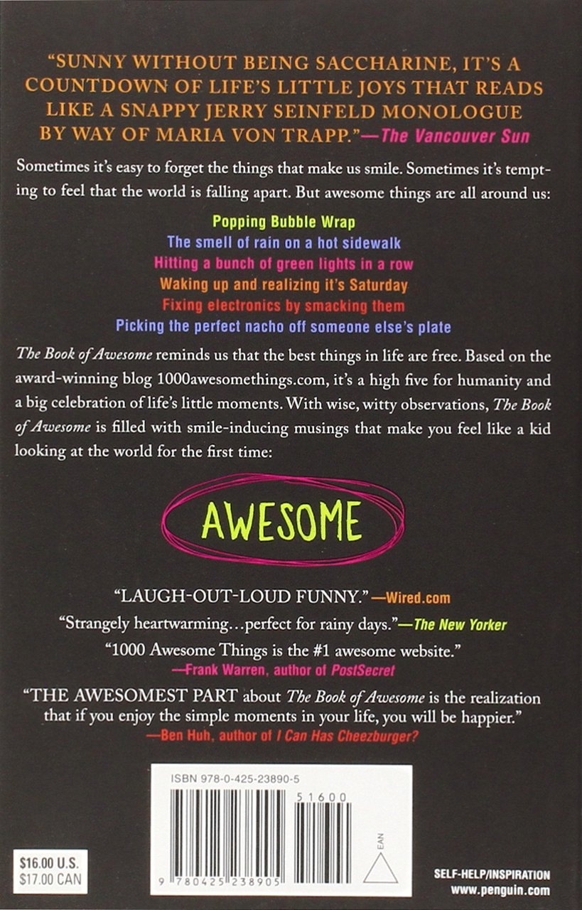 The Book of Awesome (The Book of Awesome Series): Amazon.de: Neil ...