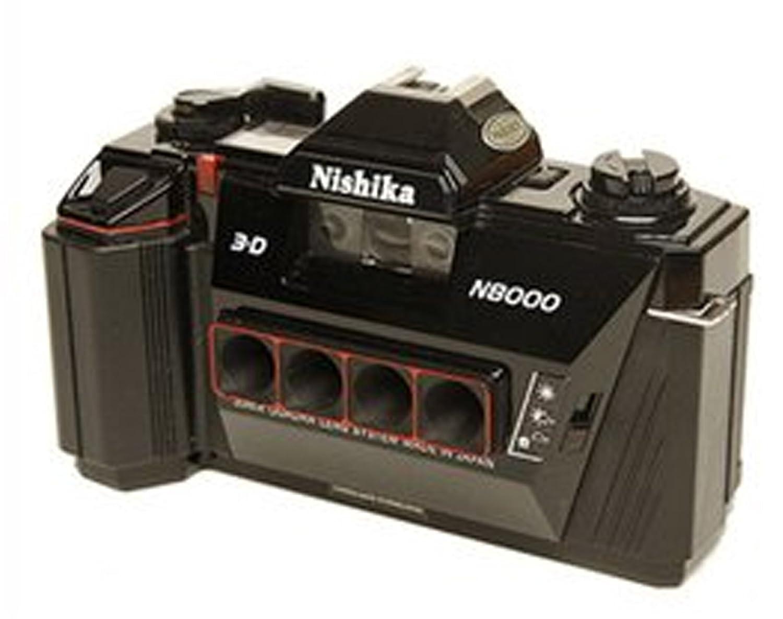 Nishika 35mm 3 D Camera N8000 Strap Owners Manual M2 Fuse Box Batteries Digital Accessory Kits Photo