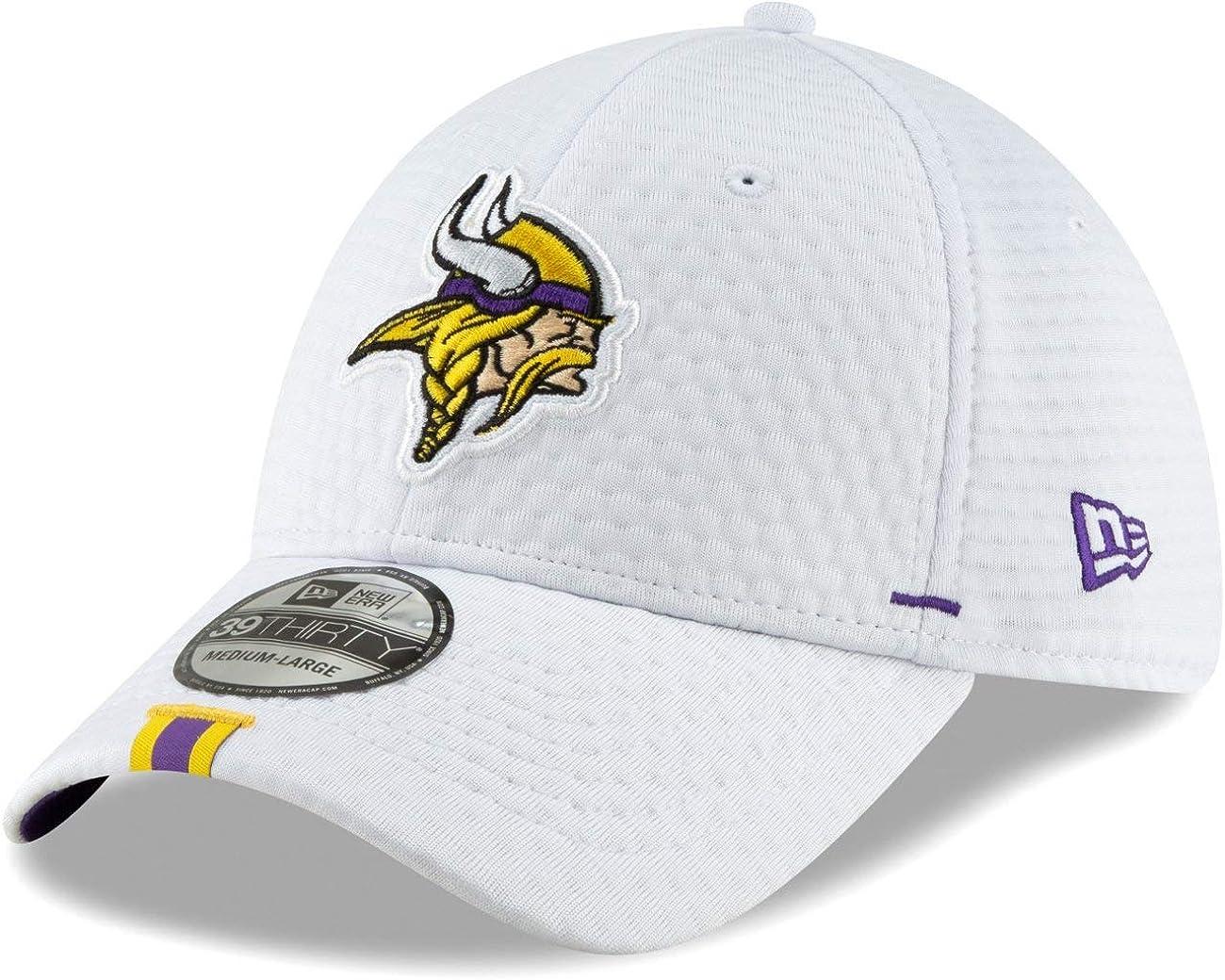 New Era 39Thirty Cap Training Camp Minnesota Vikings