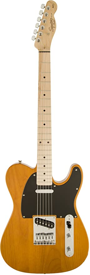 Squier por Fender Telecaster de afinidad, arce diapasón con Gear ...