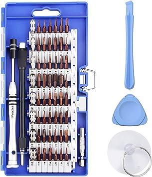 Portable Kit Tournevis de Pr/écision Magn/étique Tournevis Outils de R/éparation Pour Ordinateur//Laptop//iPhone//Lunettes//Montre//Smartphone Noir YINSAN 120 en 1 Tournevis Precision Kit Tools