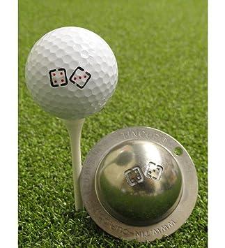 Tin Cup True Roll Stainless Steel Laser Cut Ball Marker