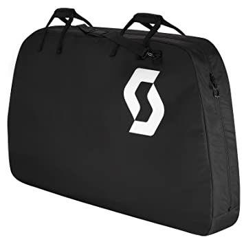 Scott transporte Bag Classic Bike Bag bicicleta bolsa de viaje Negro