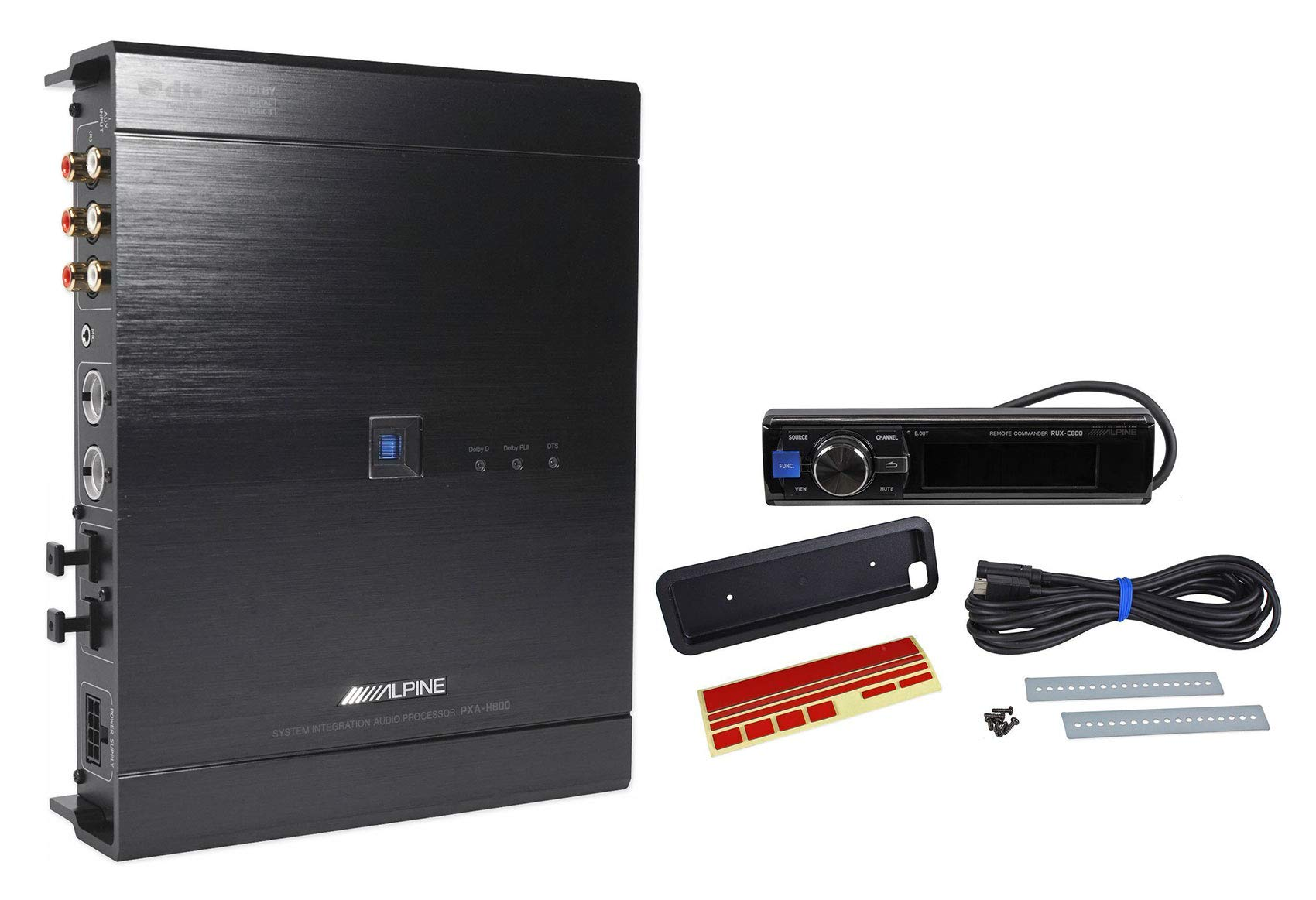 Alpine PXA-H800 Imprint Digital Car Audio OEM Sound Processor+1-Din Controller
