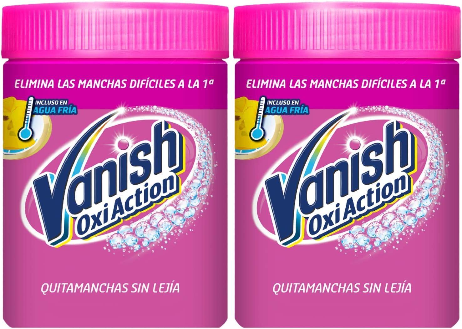 Vanish Oxi Action - Quitamanchas para Ropa Blanca y de Color, en ...