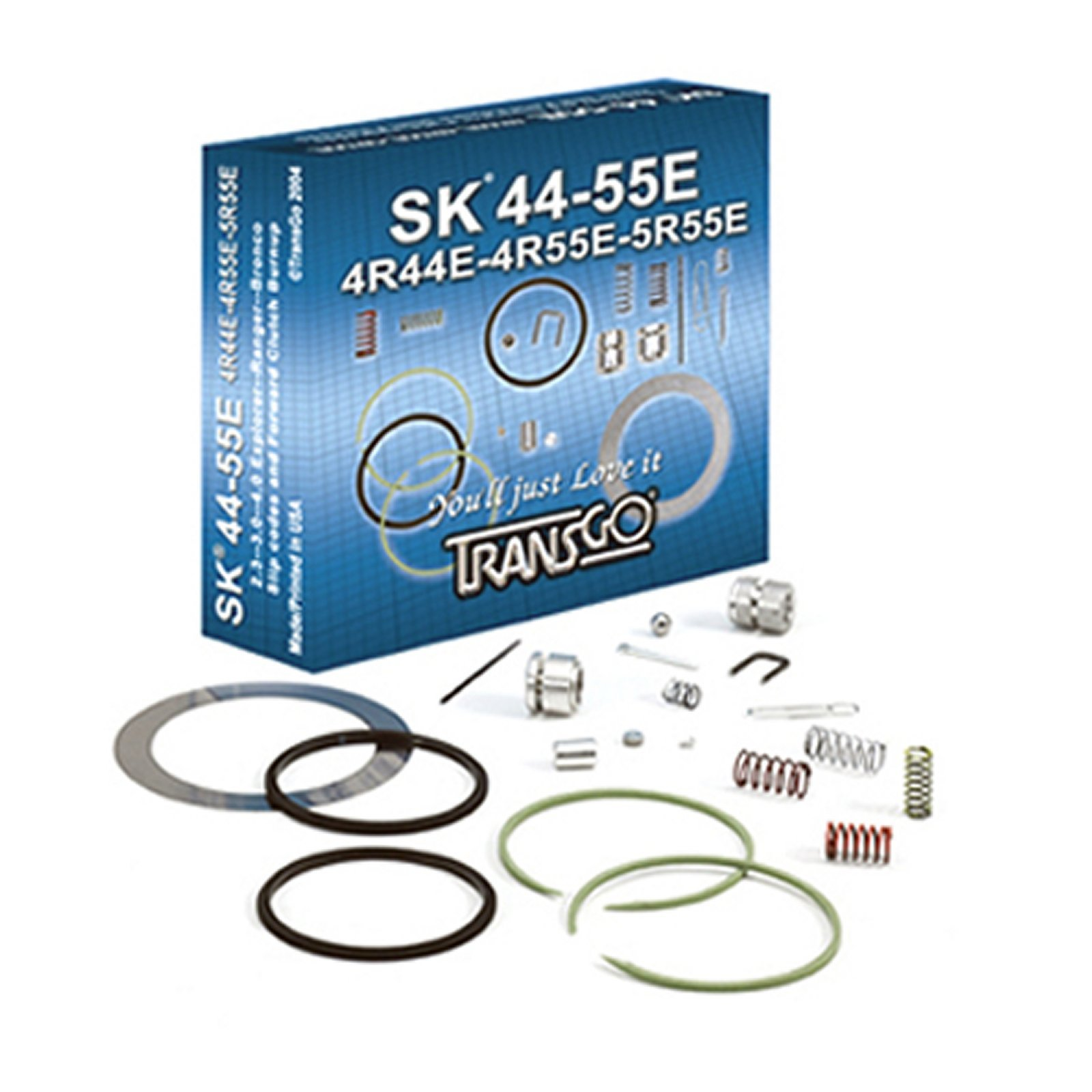 4R-44 4R-55E 5R-44 5R-55E A4LD TRANSGO Shift Kit Valve Body Rebuild Kit